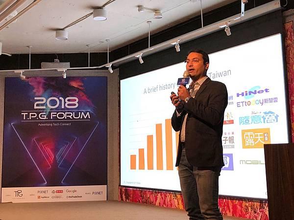 Criteo 講者 Dushyant Sapre 表示程序化購買在亞太區廣告市場成長十分快速.jpg