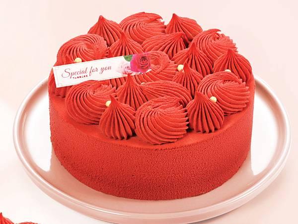 08.亞尼克的「紅絲絨」喜氣的顏色與外型讓人眼睛為之一亮(圖片提供亞尼克)
