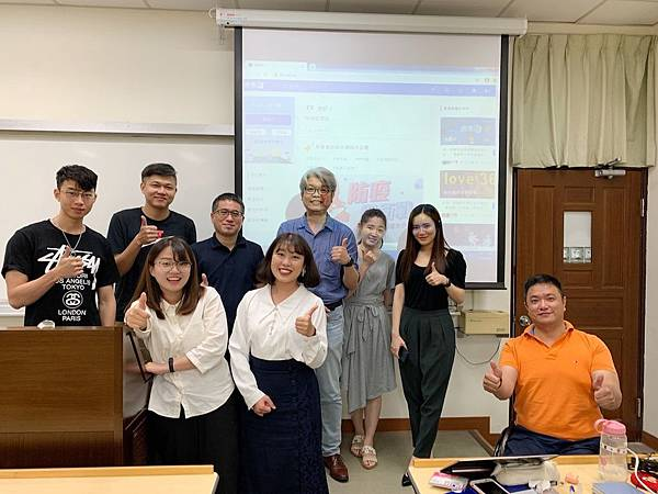 PIXNET與台大商研所「數位行銷研討」課程合作,碩博士生在本月發表研究成果。
