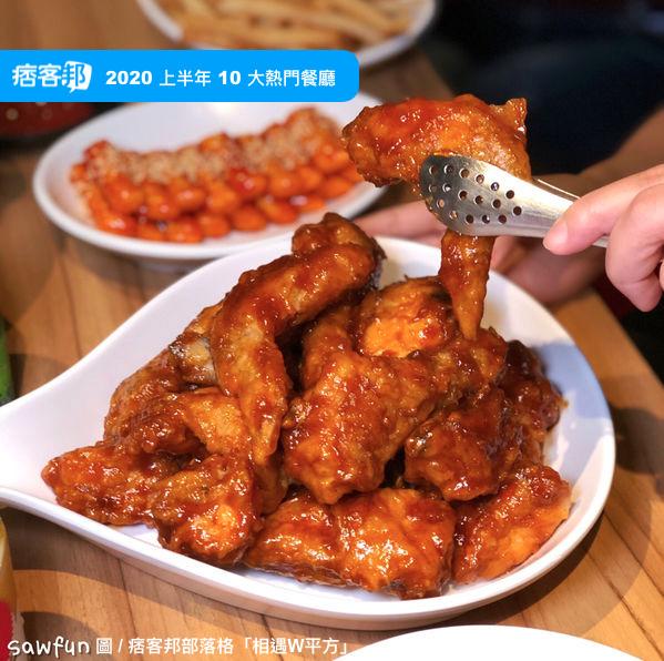 12. 韓國炸雞品牌「起家雞」。圖:痞客邦部落格「相遇W平方」提供。