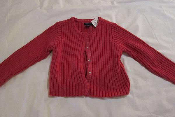 IMG_5299 桃紅色的針織外套