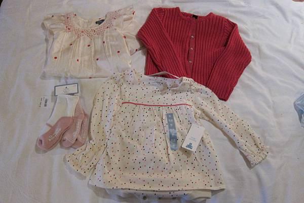 IMG_5297 第一天買的BABY GAP春裝