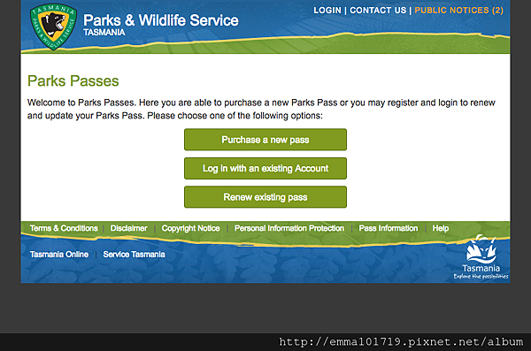 FireShot Capture 3 - Welcome to Parks Passes - https___passes.parks.tas.gov.au_.png