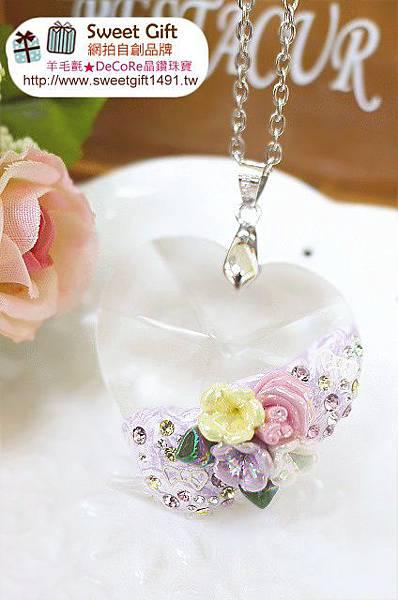 玻璃水晶項鍊