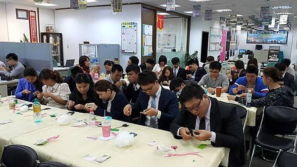 三商美邦人壽♡不織布粽子端午節香包♡教學活動大成功^O^2