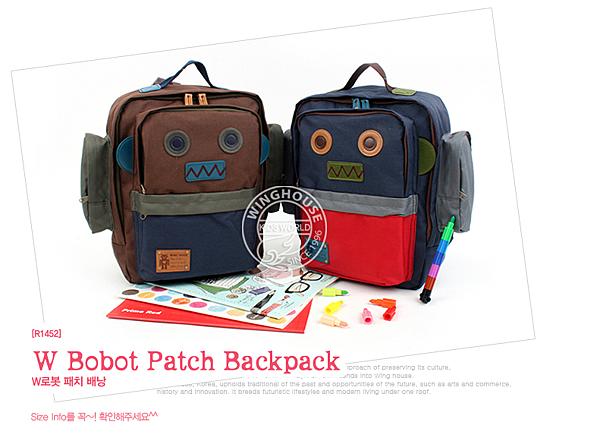 機器人造型背包