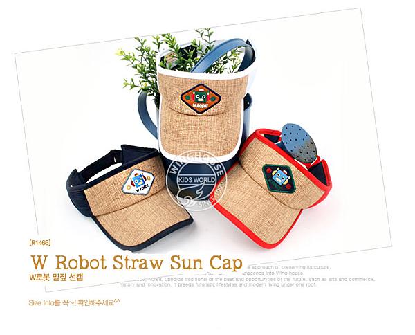機器人遮陽草帽