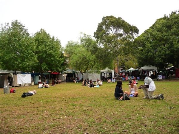 Glebe Market - picnic area 4.JPG