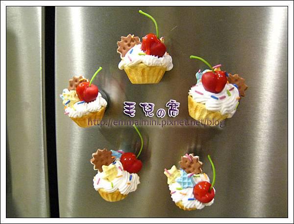 甜點磁鐵(在冰箱上)