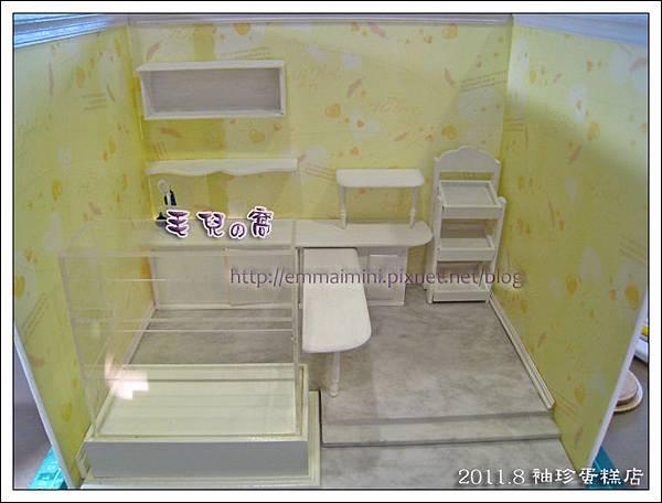 袖珍蛋糕店-傢俱上色與就定位(DAY3)