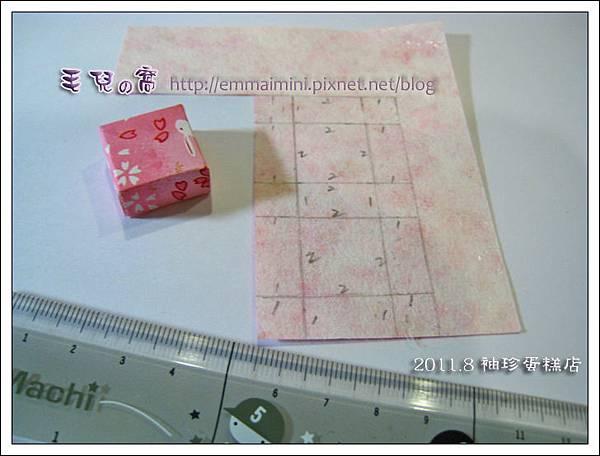 袖珍蛋糕店-蛋糕盒版型(DAY6)