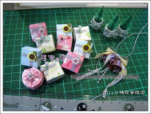 袖珍蛋糕店-蛋糕盒與其它手工小物(DAY6)