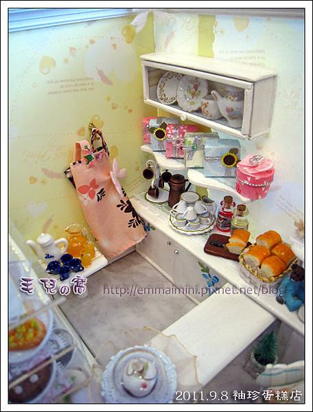 袖珍蛋糕店-櫃台內景全觀(最終回)