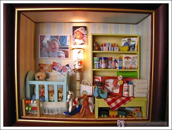 袖珍嬰兒房開燈(未完成)