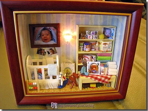 袖珍嬰兒房(開燈)