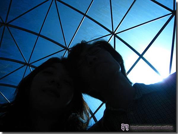 九族文化村園內纜車藝術照