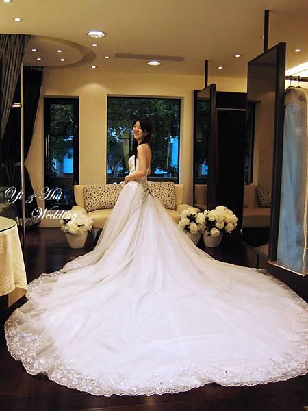 白紗裙襬1