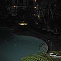 美國Day1(39)晚上飯店內的泳池