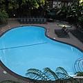 美國Day2上午(06)-早上的飯店游泳池~好想去泡一泡