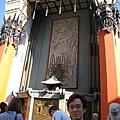 美國Day2上午(27)中國明朝寺院建築,位在星光大道上