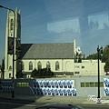 美國Day2上午(37)又在車上亂照美國街景跟建築物了^~^要前往環球影城嚕!