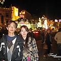 美國Day3晚上(12)拉斯維加斯的街景一角.jpg