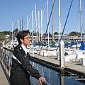 美國Day7上午(37)只能在欄杆邊欣賞那些船隻~.jpg