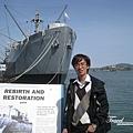 美國Day8上午2(72)介紹說這艘船是第二次世界大戰時製造的~~算古董囉!.jpg