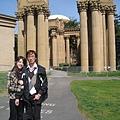 美國Day8上午2(05)藝術宮的羅馬建築很雄偉~~.jpg