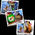 袖珍餐廳(田園蜜語改造)4-家裡乖貓咪、奇蒂的爆米花、、小熊維尼的餐具