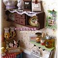袖珍餐廳(田園蜜語改造)11-櫥櫃與下方的置物櫃