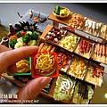 袖珍鹹酥雞攤(5)對照一下!非常小!