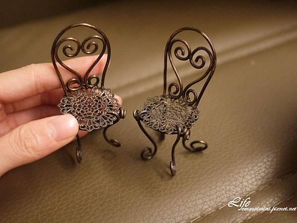 袖珍歐風鐵椅1