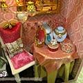 袖珍精品店-公主絨布椅與首飾