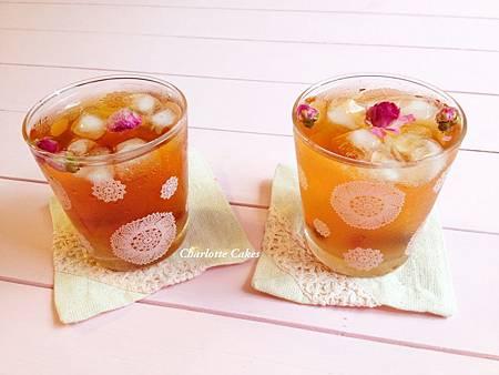 玫瑰蜜桃茶