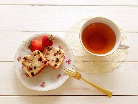 草莓巧克力瑪芬