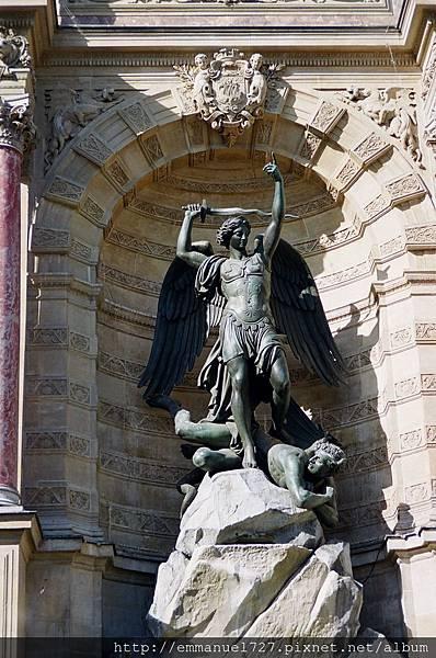 聖米歇爾天使屠龍