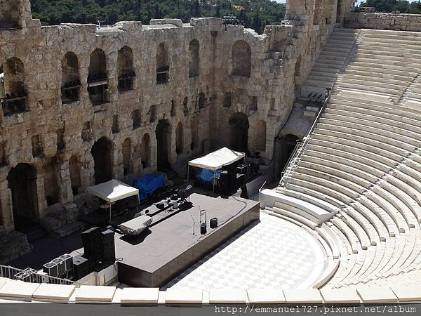 阿迪庫斯音樂廳(Odeon of Herodes Atticus)