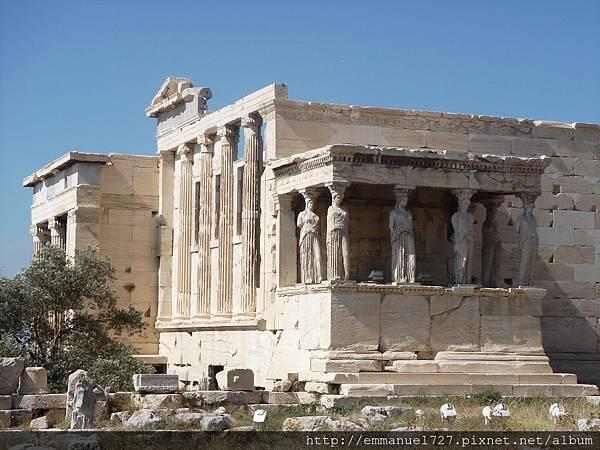 埃雷赫修神殿(Erechtheum Temple)