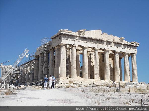 巴特農神殿(Parthenon Temple)