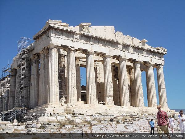巴特農神殿(Parthenon Temple)