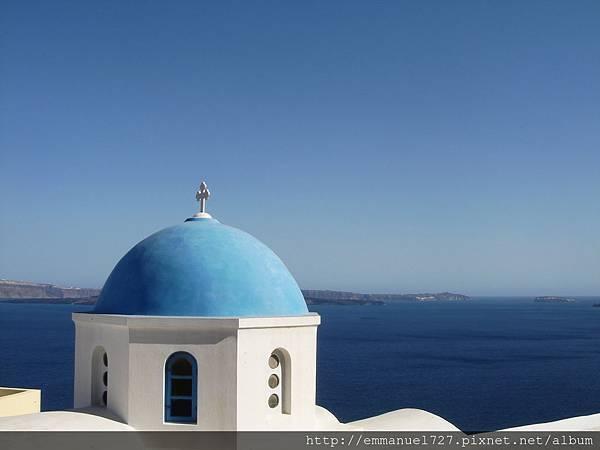 最美的藍頂教堂在費拉