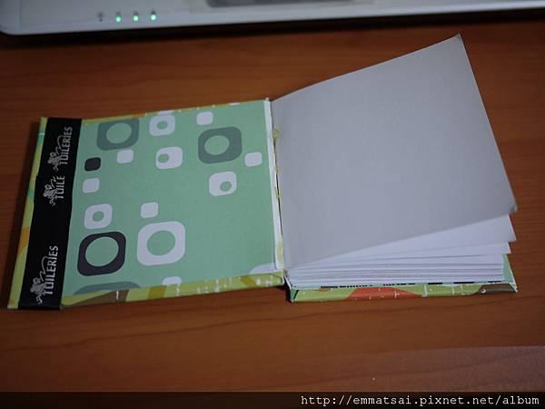 手工隨身筆記本
