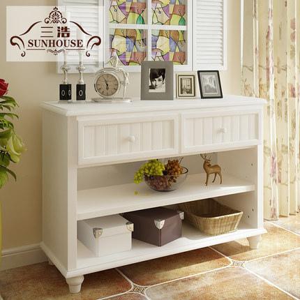 美式玄關實木櫃