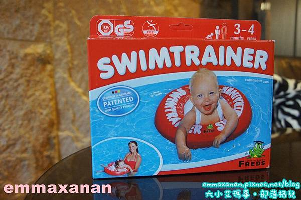 Ryan 游泳初體驗 趴兔