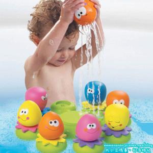 [育兒好物開團] TOMY 洗澡章魚玩具