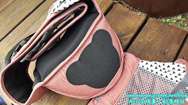 【POGNAE No.5】超輕量機能坐墊型背巾