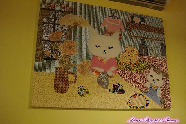 檸檬廚房-牆上的拼布畫作.jpg