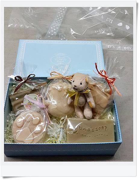 手工皂彌月禮盒