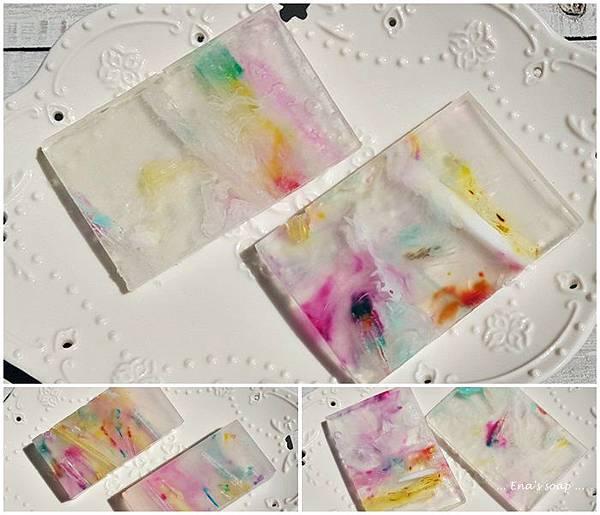 證書班同學的隨意創作.皂基也可以很美.跟大家分享 娜娜媽
